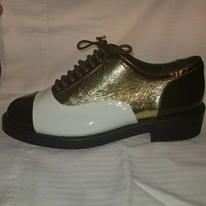 CHANEL DERBY SHOES, SZ 39 / 9